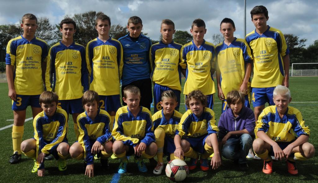 equipe U15 A 2013